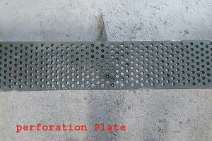 Mild Steel Perforated Plates