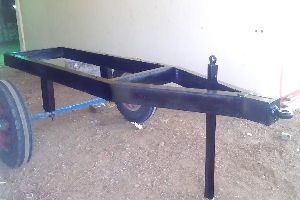 Mild Steel Tractor Trolley