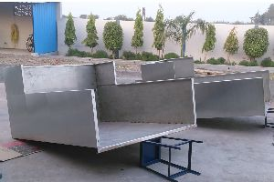 Stainless Steel Machine Cover