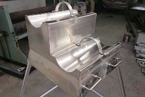 Stainless Steel Wall Trolley