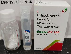 Cefpodoxime & Potassium Clavulanate Oral Suspension