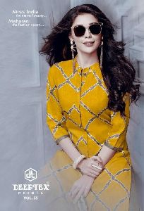 Deeptex Miss India Cotton Printed Dress Materials
