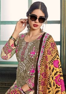 Keval Fab Mannat Lawn Cotton Printed Dress Materials