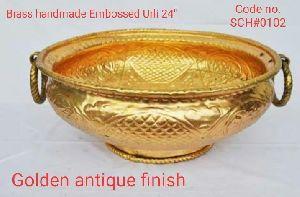 Brass Golden Antique Urli