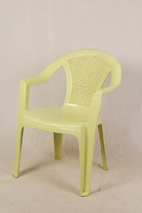 Cream Color Plastic Chair
