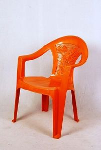 Orange Plastic Chair