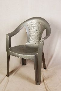Silver Plastic Chair