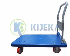 Plastic Platform Trucks- With Foldable Handle