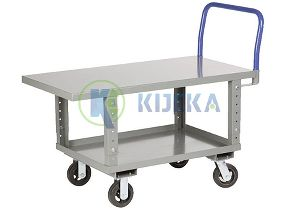 Platform Trucks- With Adjustable Working Platform