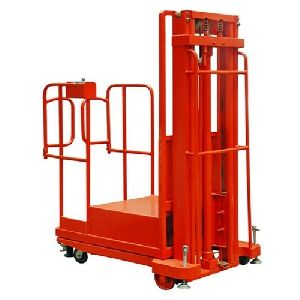 Semi-Electric Order Picker Trucks