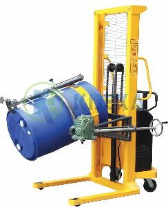 Semi Powered Drum Lifter Tilter (With Manual Rotating)