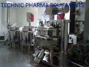 Cosmetic Cream Making Plant