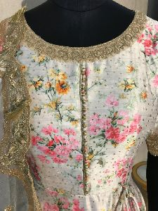Ladies Embroidered Designer Suit