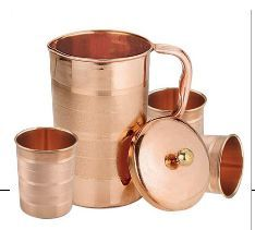 IAC-751WG Stainless Steel & Copper Jug Set