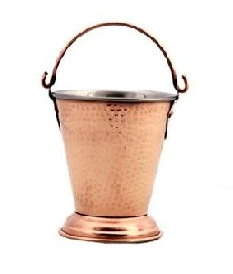 Stainless Steel Copper Bucket