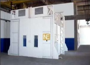 Fully Down Draft Paint Spray Booth