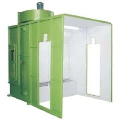 Water Curtain Type Paint Spray Booth