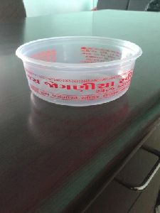 Disposable Plastic Round Container