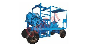 Mobile Hoist 4 Leg Type Concrete Mixer