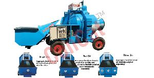 RM Series Concrete Mini Mobile Batcing & Mixing Plant