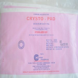 Sterile Combine Dressing Pads