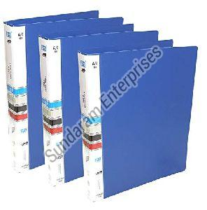 Plastic Ring Binder File