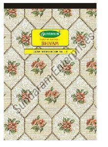 Sundaram Cash Memo Book