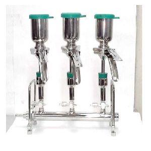 3 Membrane Sterility Test Filter Holder