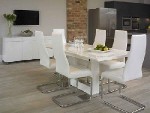 Acrylic Dining Table Set