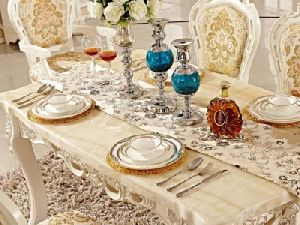 Luxury Dining Table Set