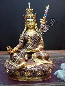 Copper Buddhist Deities Statue