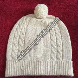 Cashmere Cable  Caps