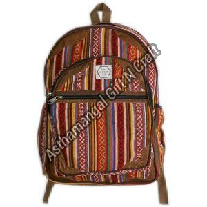 Heavy Cotton Backpack