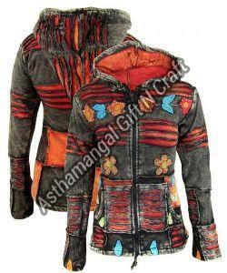 Ladies Rainbow Cotton Jacket