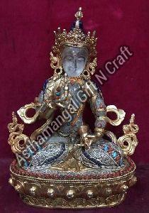 Crystal Buddhist Deities Statue