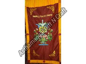 Auspicious Embroidered  Door Curtain