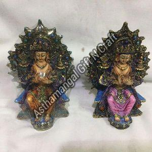 Resin Buddhist Deities Statue