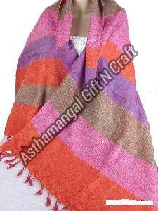 Striped Wool Stole