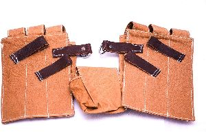 Brown Wehrmacht Magazine Pouch Set