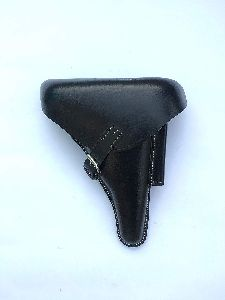 Hardshell Black Leather Holster