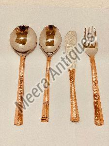 Copper Cutlery Set