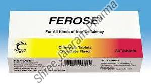 Ferose Chewable Tablets