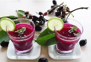Fresh Jamun Juice
