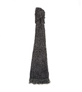 Black & Grey Merino Wool Scarves