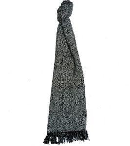 Grey Merino Wool Scarves