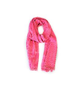 Hot Pink Merino Wool Stole