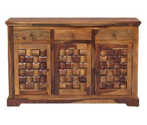 Niwar Style Sheesham Wood Sideboard