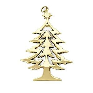 Brass Christmas Tree