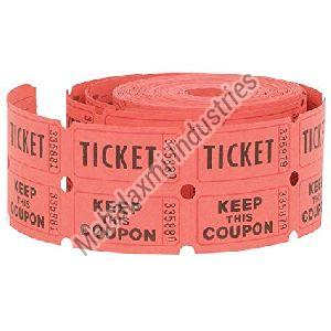 Ticket Paper Roll