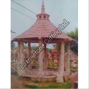 Sandstone Gazebo Construction